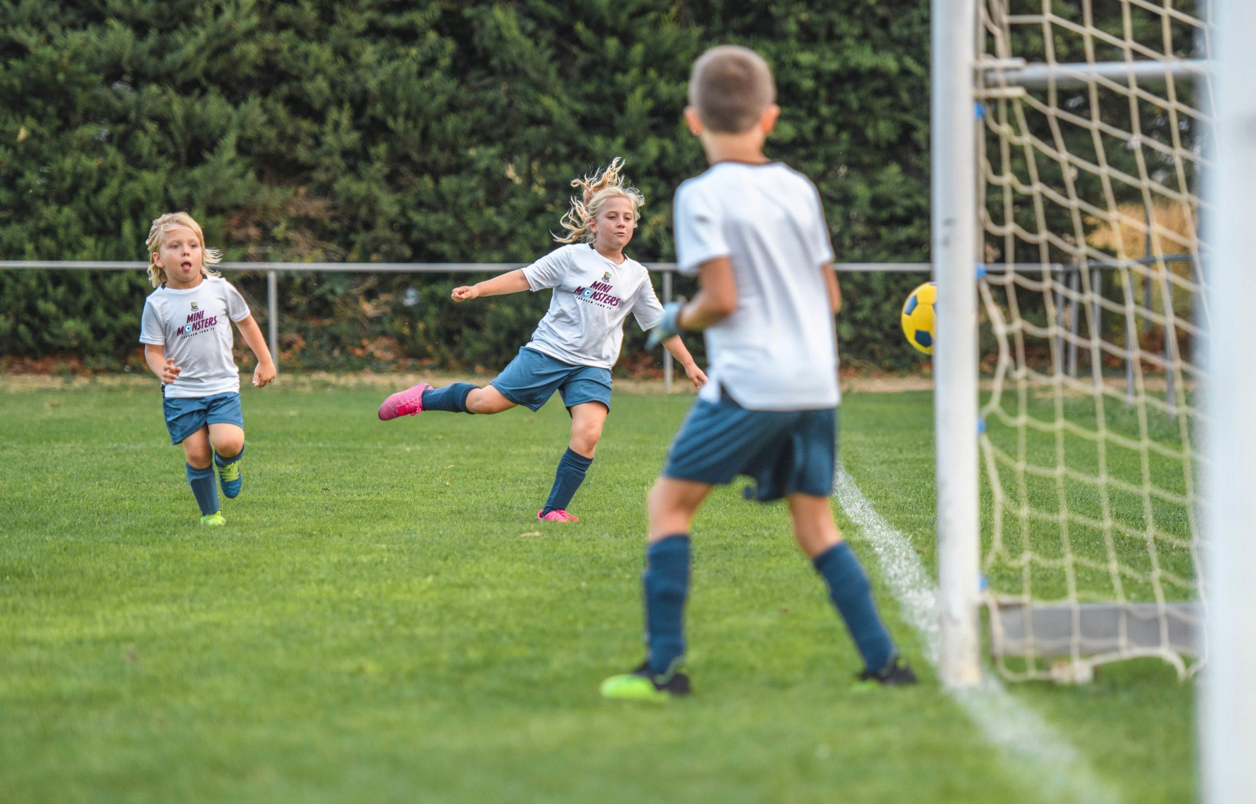 Childrens Football in Farnham